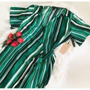 NWT Halogen Wrap Dress S